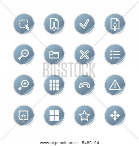 blue sticker image viewer icons