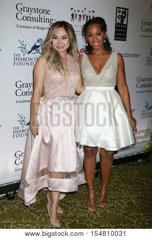 LOS ANGELES - NOV 1:  Jessica Sanchez, Anika Noni Rose at the The Walt Disney Family Museum 2nd Annual Fundraising Gala at Disneys Grand Californian Hotel & Spa on November 1, 2016 in Anaheim, CA