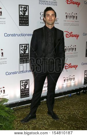 LOS ANGELES - NOV 1:  Ryan Wilson, aka Thank You X at the The Walt Disney Family Museum 2nd Annual Fundraising Gala at Disneys Grand Californian Hotel & Spa on November 1, 2016 in Anaheim, CA