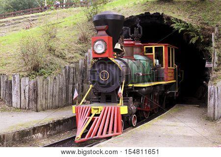 Steam Train, Locomotive, Train. Vehicle, Mode of Transport, Horizontal