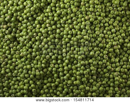 Very large group of green apples. Granny smith. background of apples