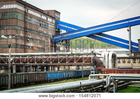 Mining Infrastructure In Silesia Region, Poland