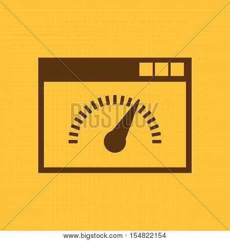 Speed internet test icon. vector design. Speed test symbol. web. graphic. JPG. AI. app. logo. object. flat. image. sign. eps. art. picture - stock vector