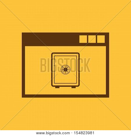 Online banking icon. vector design. online banking symbol. web. graphic. JPG. AI. app. logo. object. flat. image. sign. eps. art. picture - stock vector