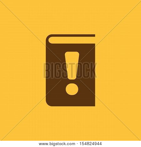 Manual icon. vector design. Tutorial and important information, Manual symbol. web. graphic. JPG. AI. app. logo. object. flat. image. sign. eps. art. picture - stock vector