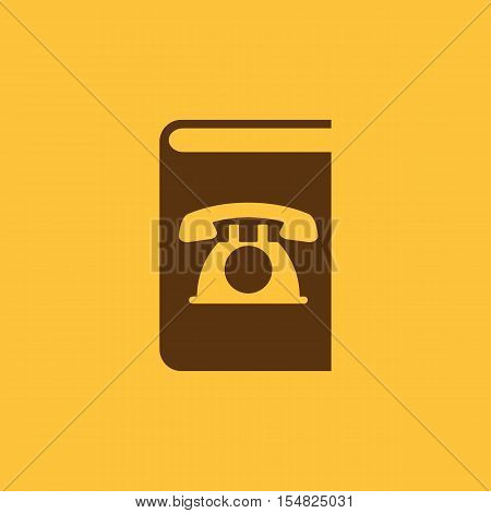 Phonebook icon. vector design. Telephone book, Phonebook symbol. web. graphic. JPG. AI. app. logo. object. flat. image. sign. eps. art. picture - stock vector