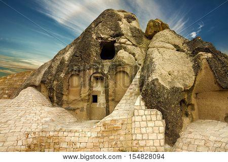 Goreme open air museum in Cappadocia, Turkey.