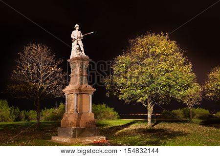 Swansea Boer War memorial A Swansea memorial to the fallen in the South African War of 1900-1902