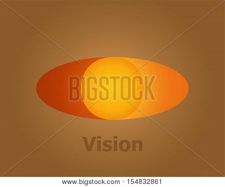 Eye Logo vision abstract design template. Business Technology multi-use logotype concept icon.