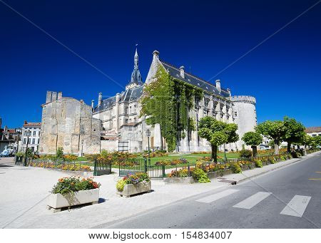 Town Hall (13th century) of Angouleme capital of the Charente department in France.