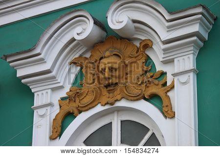 Renaissance decoration in the Winter Palace Saint Petersburg, Russia