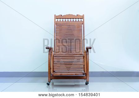 Reclining Wooden Chairs
