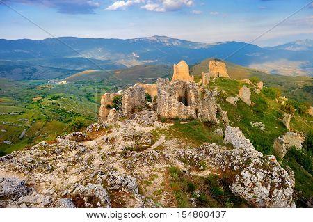 Rocca Calascio Castle In Italy