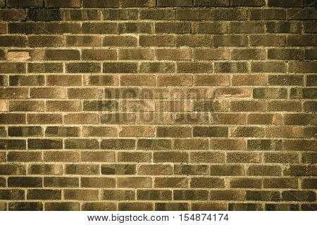 Architecture. Closeup of red brown brick wall as texture or background. Architectural detail.