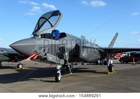 Lockheed Martin F-35 Lightning II on Tarmac
