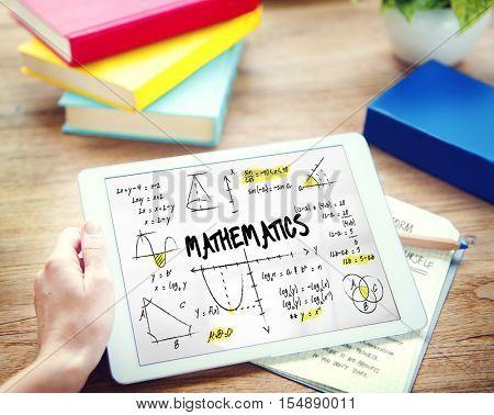 Mathematics Math Algebra Calculus Numbers Concept