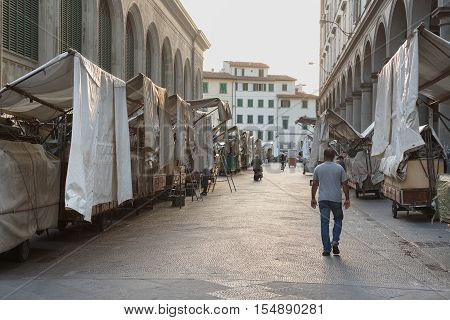 San Lorenzo Leather Market Florence
