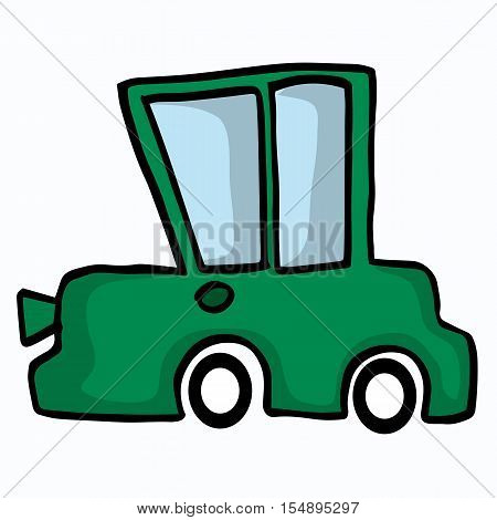 Various car collection vector art illustration collection