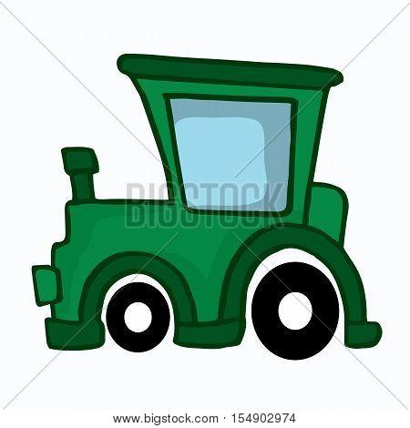 Jeep car style design for kids vector illustration