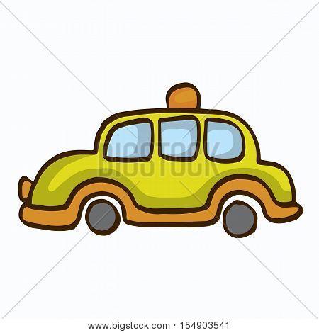 Collection car for kids vector art illustration
