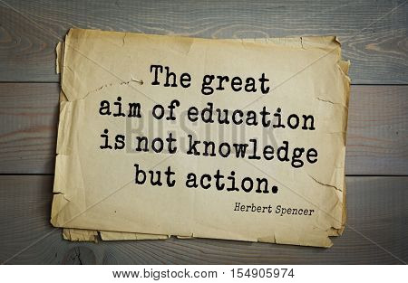 op 25 quotes by Herbert Spencer - English philosopher, biologist, anthropologist, sociologist, liberal political, theorist of Victorian era. 