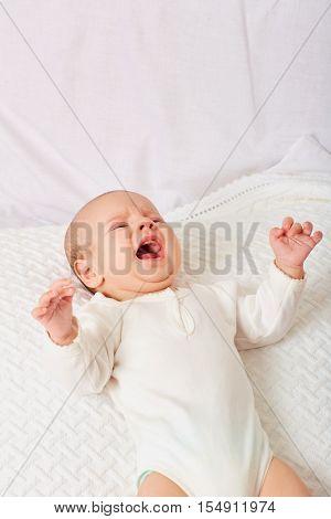 Cry baby .Cry child .Cry newborn .