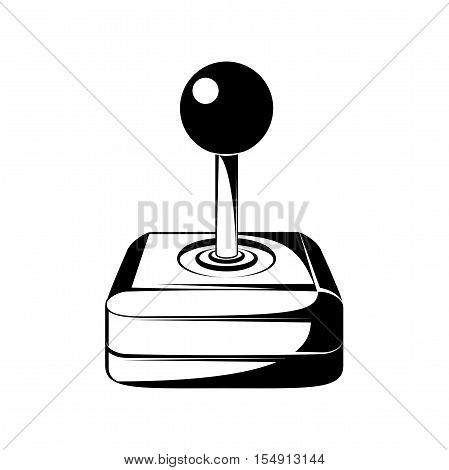 Joystick Computer Video Game. Vector illustration. Isolated On White Background