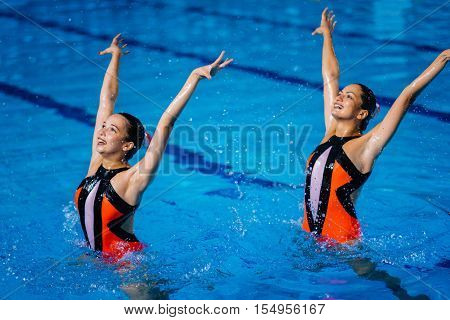 Synchronized Swimmers Performance