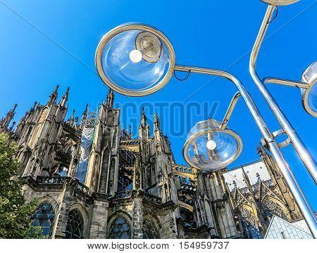 Cathedral in Cologne, North- Rhine Westphalia, Germany