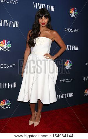LOS ANGELES - NOV 2:  Jameela Jamil at the NBC And Vanity Fair Toast the 2016-2017 TV Season at NeueHouse Hollywood on November 2, 2016 in Los Angeles, CA