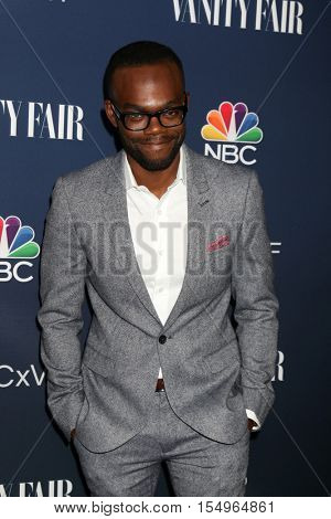 LOS ANGELES - NOV 2:  William Jackson Harper at the NBC And Vanity Fair Toast the 2016-2017 TV Season at NeueHouse Hollywood on November 2, 2016 in Los Angeles, CA