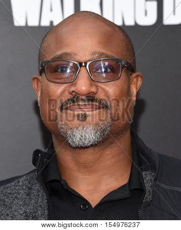 LOS ANGELES - OCT 23:  Seth Gilliam arrives to the Special taping of