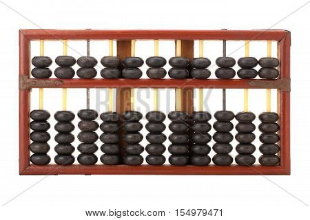 Old Wooden Chinese Abacus