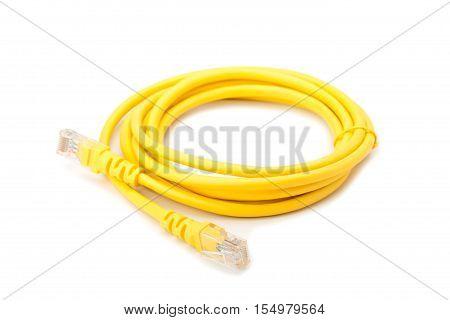 Yellow Lan Cable