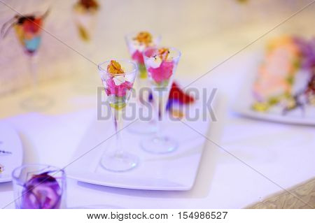 Stylish Snacks On An Event Party