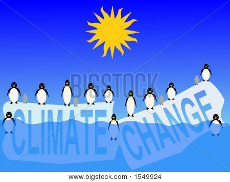 Climate Change With Penguins