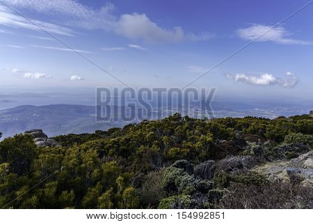 Mt.Wellington in Hobart city,