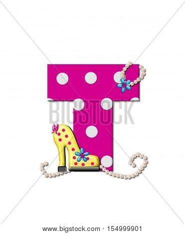 Alphabet Shoe Dive T