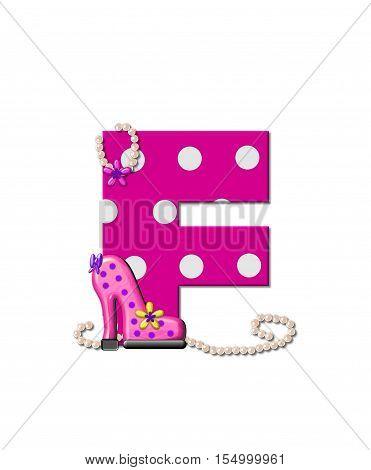 Alphabet Shoe Dive F