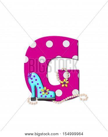 Alphabet Shoe Dive G