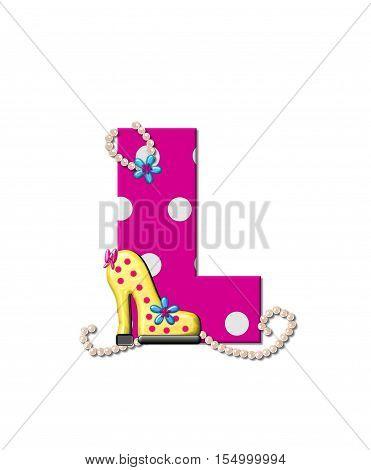 Alphabet Shoe Dive L
