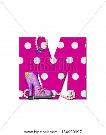 Alphabet Shoe Dive M