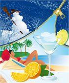 Unzip summer poster