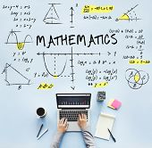 Mathematics Math Algebra Calculus Numbers Concept poster