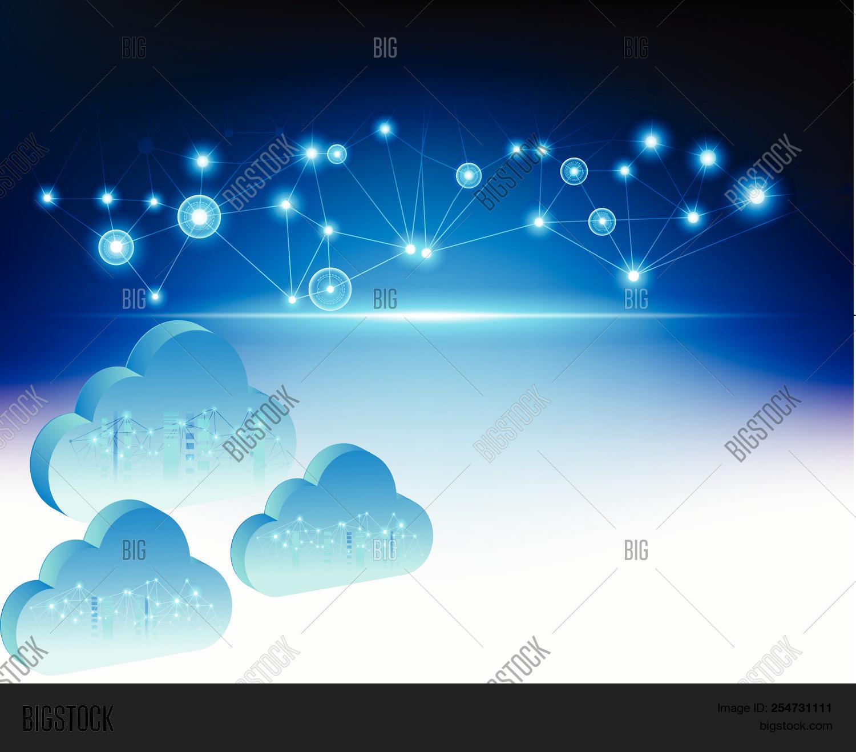 3d Cloud Computing Vector & Photo (Free Trial) | Bigstock