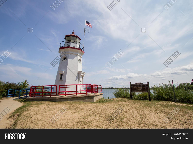 Michigan Lighthouse  Image & Photo (Free Trial)   Bigstock
