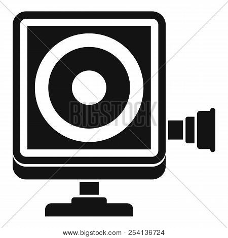 Action Camera Icon. Simple Illustration Of Action Camera Icon For Web Design Isolated On White Backg