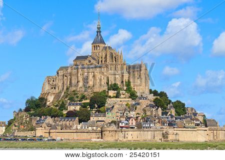Mont Saint Michel Abbey Normandy / Brittany France poster