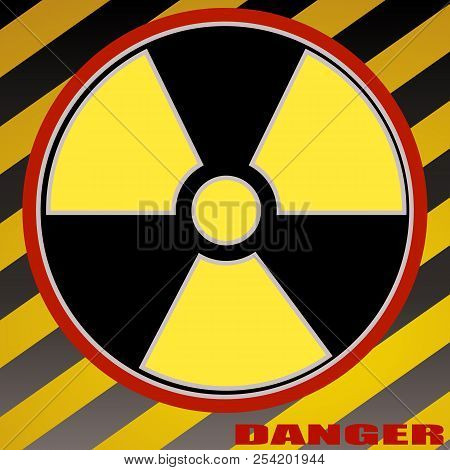 Caution, Chemistry, Danger, Dangerous, Icon, Isolated, Nuclear, Radiation, Radioactive, Sign.