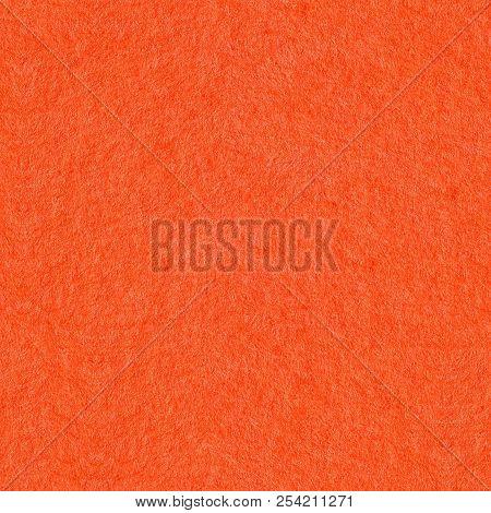 Orange Kraft Sheet Background. Seamless Square Texture. Tile Rea